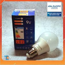 Chính hãng] Bóng đèn LED búp 9W - Asia Pacific Lighting