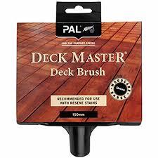 Pal Deck Brush Brushes Mitre 10