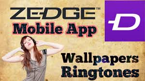 use zedge application free wallpapers