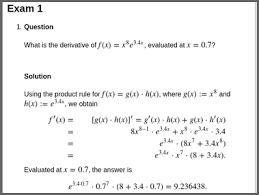 mathematical notation in r exams