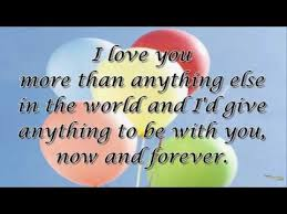 my birthday message for my ever loving and caring hubby