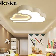 Super Deal Nordic Simple Clouds Kids Room Lighting Bedroom Led Ceiling Lights For Children Baby Room Remote Control Acrylic Ceiling Lamps September 2020