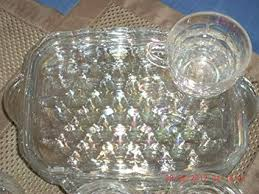 federal glass company 8 piece