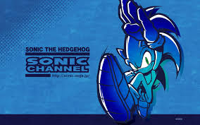new sonic channel wallpaper sonic the