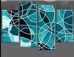 the split pieces paintings
