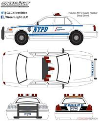 2011 Ford Crown Victoria Police New York City Police Dept With Nypd Squad Number Decal Sheet Diecast Car Hi Res Image List