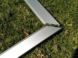 extruded aluminum patio screen door