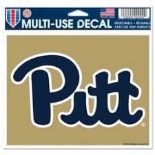 University Of Pittsburgh Stickers Decals Bumper Stickers
