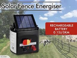 Solar Fence Energizer Trade Me