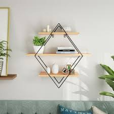 2020 Wooden Iron Wall Storage Shelf Wall Mounted Storage Rack Organization For Kitchen Bedroom Home Decor Kid Room Wall Decor Holder Y200429 From Shanye09 63 24 Dhgate Com