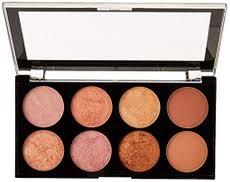 makeup revolution palette blush bronze