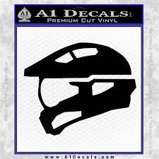 Halo Master Chief Spartan Helmet Decal Sticker A1 Decals