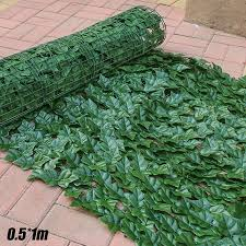 Outdoor Artificial Fake Ivy Leaf Foliage Privacy Fence Screen Garden Panel Hedge Walmart Canada