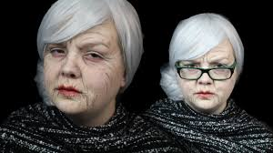latex old age make up tutorial