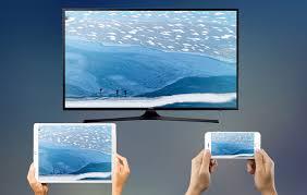 afficher son iphone sur une tv samsung