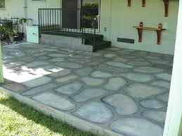 paint cement patio floors to look like