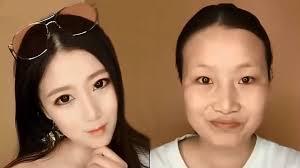 crazy viral asian makeup