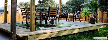 diy you can have a cool floating deck