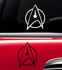 Star Trek Decal Vinyl Car Window Sticker Any Size Ebay