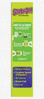 fruit snacks scooby doo snacks value