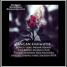▷ wulquote kata motivasi jangan khawatir bunga yang mekar