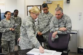 927th Logistics Readiness Squadron hosts 4th Air Force commander