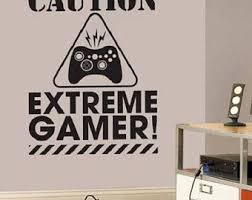 Video Game Wall Decal Video Game Decor Video Game Wall Sticker Gamer Decor Kids Decor Boys Deco Wall Stickers Gaming Boys Wall Stickers Wall Decals