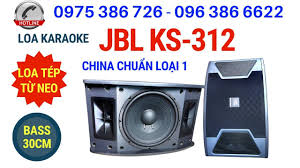 Loa JBL karaoke, loa hát karaoke hay JBL KS-312. LH 0975386726 ...