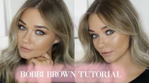 in depth bobbi brown makeup tutorial