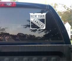 New York Rangers Vinyl Car Truck Decal Window Sticker