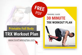 trx workouts 30 minute home workout