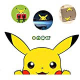 Amazon Com Pikachu Pokemon Yellow Car Decal Sticker Cars Laptops Windows Automotive