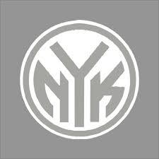 York Knicks 6 Nba Team Logo 1color Vinyl Decal Sticker Car Window Wall Vinyl Decals Car Stickers Decals