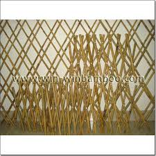 Bamboo Expandable Trellis Screen Fencing