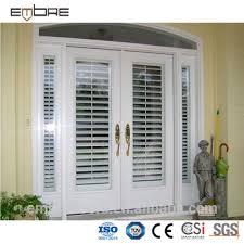commerical aluminum double shutter door