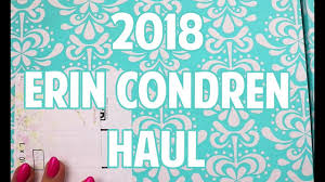 2018 erin condren haul you