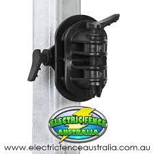 Gallagher Bulk Bag Of 150 Steel Post Pinlock Insulators Electric Fence Australia