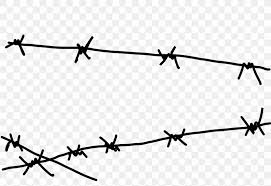 Barbed Wire Clip Art Png 2400x1650px Barbed Wire Area Black And White Borders And Frames Chain