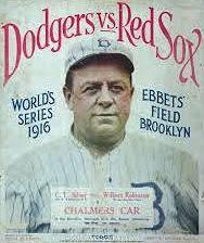 1916 BOSTON RED SOX (10-10-16)