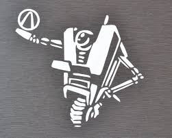Clap Trap Inspired Borderlands Decal Etsy