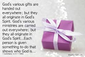 are you using your spiritual gifts