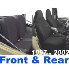 jeep wrangler tj neoprene seat cover