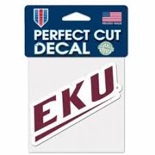 Eastern Kentucky University Stickers Decals Bumper Stickers