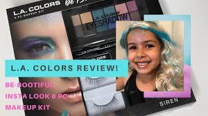 mermaid makeup tutorial l a colors