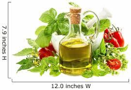 Olive Oil With Fresh Wall Decal Wallmonkeys Com
