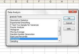 linear regression simple steps
