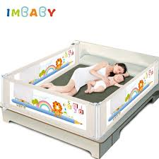 Imbaby Baby Bed Fence Barrier Bed Fence Child Barrier For Beds Crib Rails Security Fencing For Children Guardrail Kids Playpen Gates Doorways Aliexpress