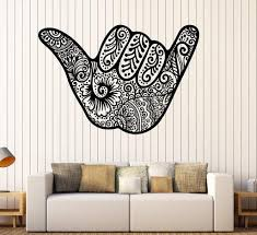 Beach Style Wall Vinyl Decal Wallstickers4you