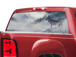 Sec10 Sierra 1500 Perforated Wolf Rear Window Decal S509779 07 21 Sierra 1500