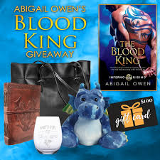 Abigail Owen's Blood King Giveaway | LitRing